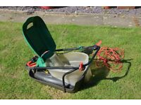 Qualcast electric hover lawnmower 1500w