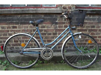 Ladies Vintage dutch bike RALEIGH size frame 20 student commuter ready to go - Welcome
