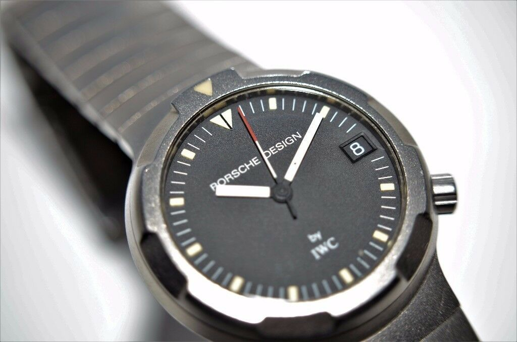Porsche Design Ocean 500 by IWC automatic mechanical diver's wristwatch-Swiss- Circa '93 - Mid Size
