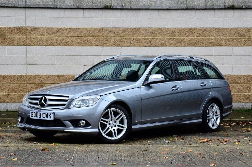 2008 Mercedes C-Class C220 CDI AMG Sport Auto Estate , Full History, Diesel | in Ipswich ...