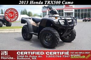 2013 Honda TRX500PGC Fully Automatic! Electronic Shift! Low Mile