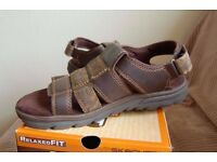 Brand New Mens Sketchers memory foam sandals