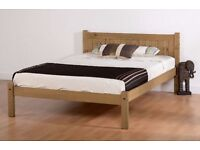 Maya Double Pine Bed Frame