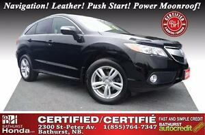 2015 Acura RDX Tech Pkg V6! AWD! Navigation! Leather! Push Start