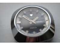 Nivada Duranium automatic mechanical wristwatch - new old - '70s - Winegartens - Vintage