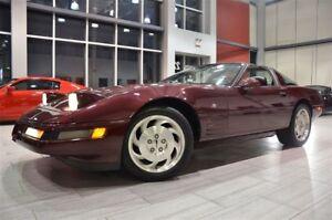 1993 Chevrolet Corvette 40th Anniversary Targa With Only 94.768