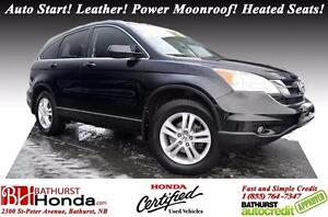 2011 Honda CR-V EX-L 4WD Honda Certified! 4WD! Auto Start! Leath