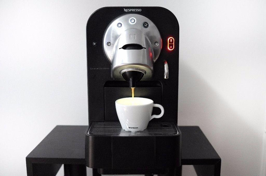 nespresso professional gemini cs 100 cs100 pro capsule. Black Bedroom Furniture Sets. Home Design Ideas