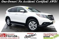 2013 Honda CR-V EX VERY WELL MAINTAINED!!!! One-Owner! No Accide
