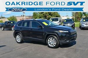 2015 Jeep Cherokee Limited 4X4 LEATHER
