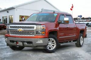 2015 Chevrolet Silverado 1500 LTZ | REDUCED | CREW | HEATED LEAT