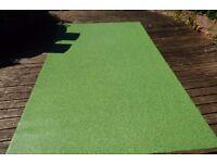 Grass Effect Cushioned Vinyl Sheet Lino Non Slip Cushion Flooring Roll