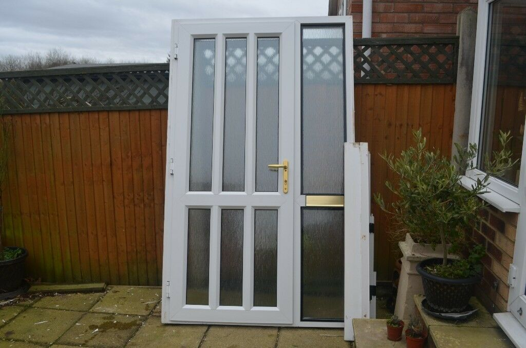 Rahaul White Upvc Double Glazed Front Door And Side Panel In Norwich Norfolk Gumtree