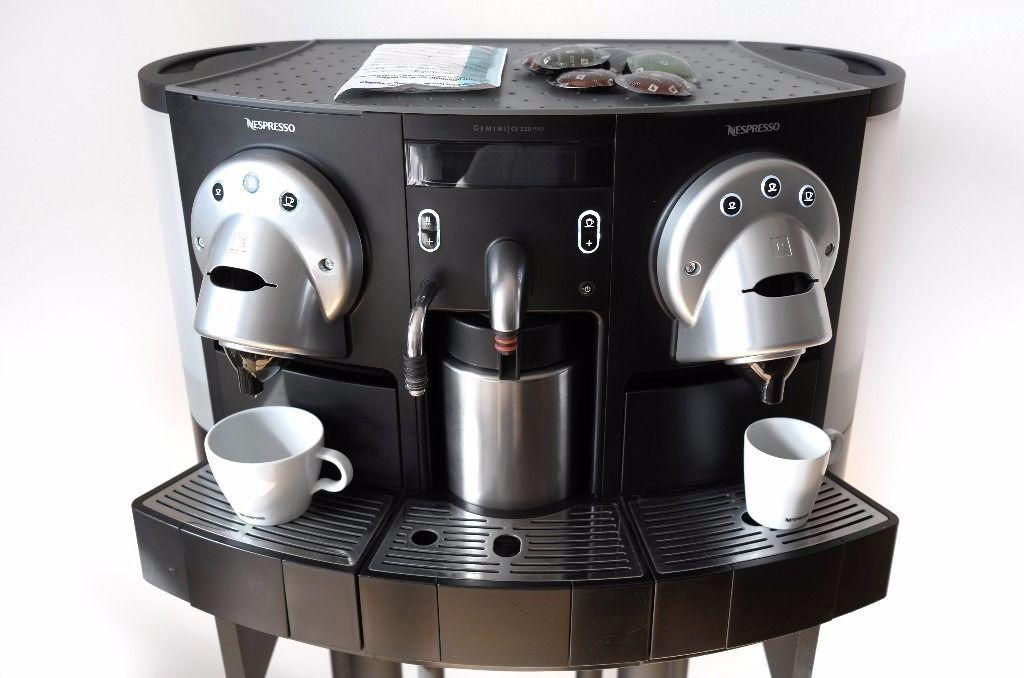 Professional Nespresso Gemini CS 220 Pro capsule coffee machine ...