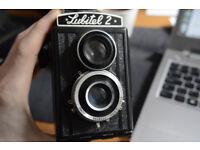 Lubitel 2 TLR Medium Format Vintage Film Camera