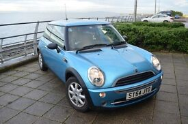 MINI One Sky Blue Very Good Condition 2004 only 53k done - 1y MOT, Taxed
