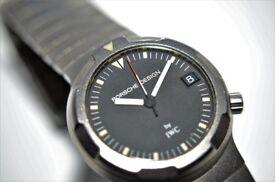 Porsche Design by IWC Ocean 500 Titanium automatic mechanical diving wristwatch - '90s - cal3572