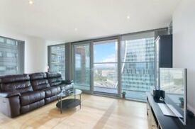 2 bed apartment on the 21st floor of the East Tower of luxury development The Landmark,£610PW E14-SA