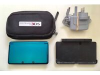 Nintendo 3DS and games, docking station and charger