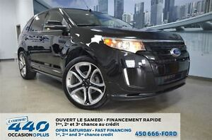 2013 Ford Edge Sport *Mags chrome 22 po*
