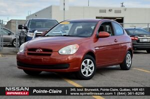 2009 Hyundai Accent GL MANUAL, A/C, CRUISE CONTROL