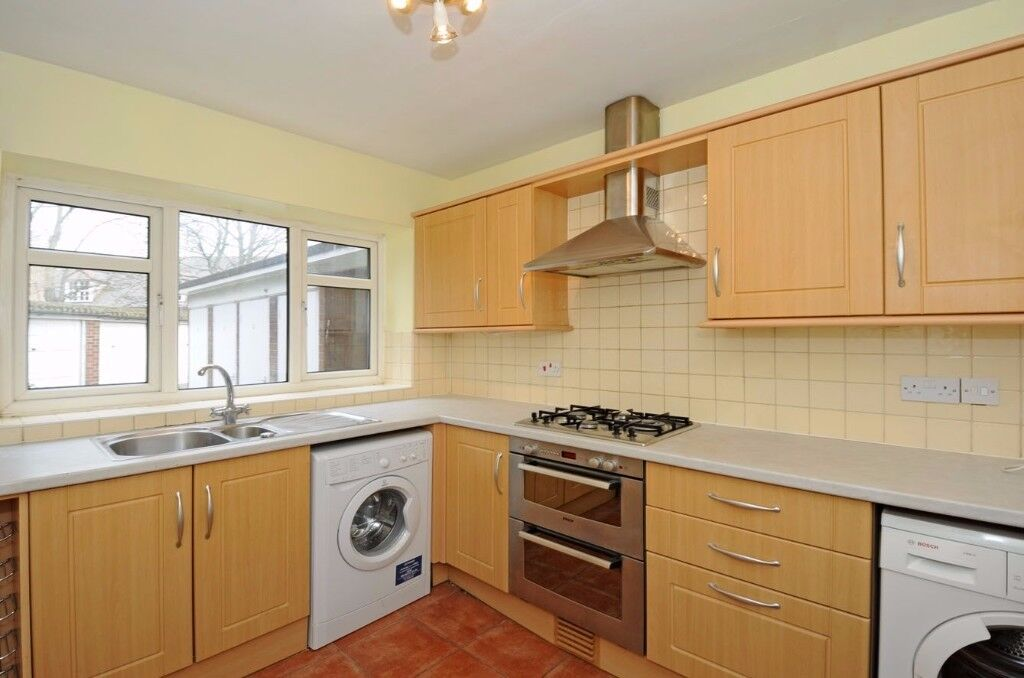 A two bedroom purpose built ground floor flat