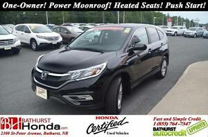 2015 Honda CR-V EX LIKE NEW!! One-Owner! No Accident! Power Moon