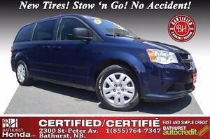 2015 Dodge Grand Caravan SXT Certified! New Tires! Stow 'n Go! N