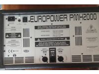 Behringer Europower 2 X 250 watts with 24 bit multi effects processor
