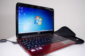 Acer Aspire One 751h RED Laptop / Netbook