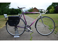 Beautiful and Very Fast Vintage TOURING Bike For Sale(extra set of tyres & pannier bags)ONLY £250!!!