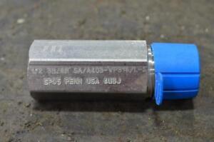 """BULL Plug - 2"""" 6000 C/W 1/2"""" NPT TAP"""