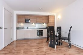 Two bed flat to let in West Parkside, SE10