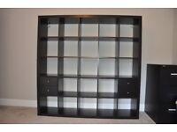 Ikea Kallax Storage Unit/Room Divider with 4 drawers