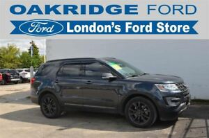 2017 Ford Explorer XLT - ONE OWNER! SPORT APPEARANCE PACKAGE, NA