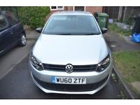 2010 volkswagen polo 1.2 silver 50k miles timing chain done