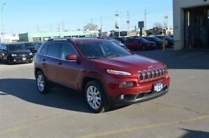 2015 Jeep Cherokee Limited - 4x4, GPS, Back Up Cam, Bluetooth