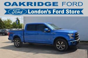 2015 Ford F-150 ONE OWNER, ACCIDENT FREE LARIAT F150, HEATED/COO