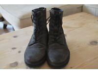 All Saints Suede Leather Boots Mens 7-8
