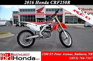 2016 Honda CRF250R Choose your best chance to win!!