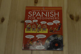 Spannish for beginners book with audio CD