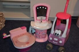 Baby Born Interactive Wash Basin, Potty and Cosy Coupe
