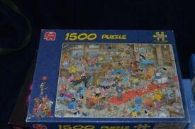 8 boxs of jigsaws