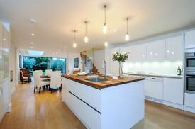An immaculate 4 bed, 2 bath house with private garden, New Kings Road, SW6. Contact 020 3486 2290.