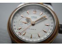 Oris Big Crown Pointer automatic mechanical wristwatch - Swiss- Mid sized/unisex - 7482-B - Bi-metal