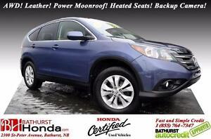 2012 Honda CR-V EX-L AWD AWD! Leather! Power Moonroof! Heated Se
