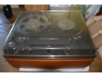 Vintage Tandberg 4 Track Tape Recorder Model 12-41 and Classical Music Tapes