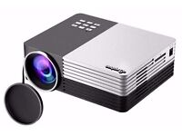 ELEPHAS Full Color Portable Mini LED Projector HDMI interface , usb , sdcard.