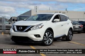 2016 Nissan Murano Platinum AWD/FULLY LOADED, MOONROOF, 360 CAME