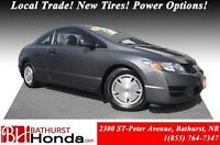 2009 Honda Civic Coupe DX-G Priced to Sell!!! Local Trade! New T
